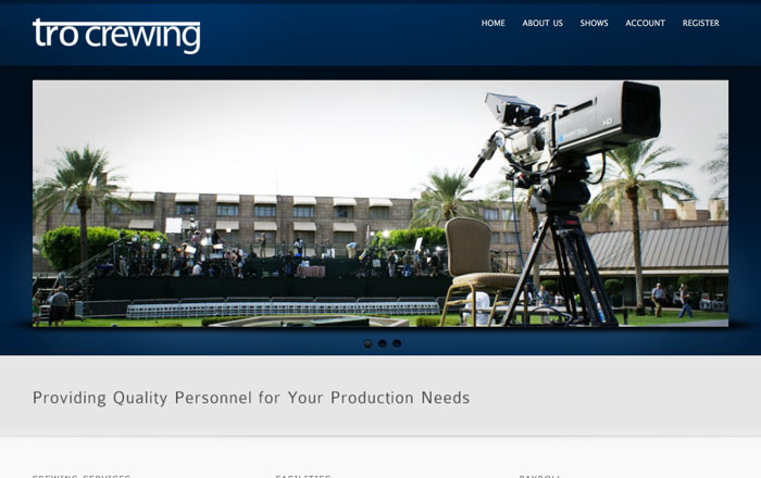 TRO Crewing Website